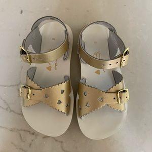 Gold Salt Water Sandals